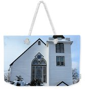 Paramus Nj - Church And Steeplechurch And Steeple Weekender Tote Bag
