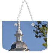 Church Architecture Weekender Tote Bag