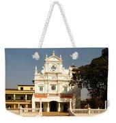Church At Colva Weekender Tote Bag
