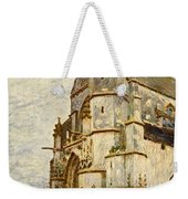 Church At Moret After The Rain Weekender Tote Bag