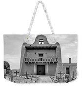 Church At San Ildefonso - Bw Weekender Tote Bag