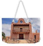 Church At San Ildefonso Weekender Tote Bag