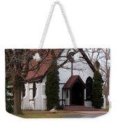 Church At The Lake Weekender Tote Bag
