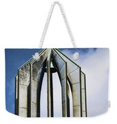 Church - Tower Bell - Luther Fine Art Weekender Tote Bag