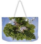 Church Circle Weekender Tote Bag by Heather Applegate