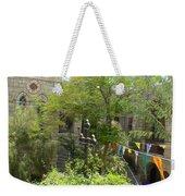 Church Courtyard Weekender Tote Bag