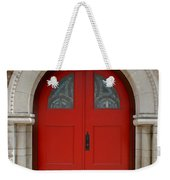 Church Door Weekender Tote Bag
