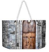Church Door Killala Ireland Weekender Tote Bag