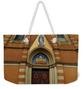 Church Entrance. Palazzolo Weekender Tote Bag