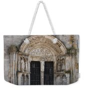 Church Entrance - St  Thibault Weekender Tote Bag