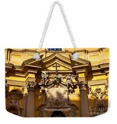 Church Facade Weekender Tote Bag