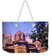 Church In Beautiful Athens Weekender Tote Bag