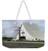 Church In Brazilia Weekender Tote Bag
