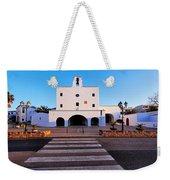 Church In Sant Josep Town On Ibiza Island Weekender Tote Bag