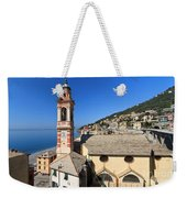 church in Sori Weekender Tote Bag