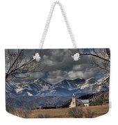 Church In The Hills Weekender Tote Bag