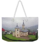 Church In The Mist Weekender Tote Bag