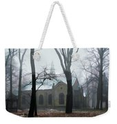 Church In The Misty Woods Weekender Tote Bag