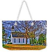 Church In The Wildwood - Paint Weekender Tote Bag