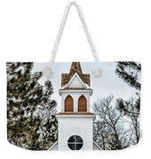 Church In The Woods Weekender Tote Bag