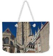 Church Of Our Lady In Bruges Weekender Tote Bag