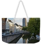 Church Of Our Lady Reflection Weekender Tote Bag