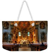 Church Of Saint Agnes Weekender Tote Bag