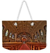 Church Of Saint Bernard Weekender Tote Bag
