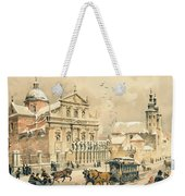 Church Of St Peter And Paul In Krakow Weekender Tote Bag by Stanislawa Kossaka