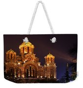Church Of Sveti Marko Weekender Tote Bag