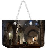 Church Of The Assumption Of Mary In Bossost Weekender Tote Bag