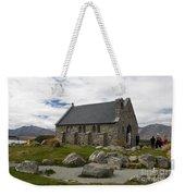 Church Of The Good Shepherd Lake Tekapo New Zealand Weekender Tote Bag