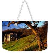 Church On A Landscape, Rievaulx Abbey Weekender Tote Bag