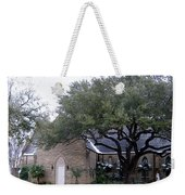 Church On Pennsylvania St Fort Worth Tx Weekender Tote Bag