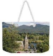 Church On The Lake Weekender Tote Bag