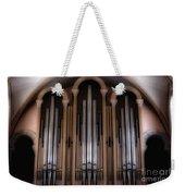 Church Pipes Weekender Tote Bag