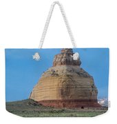 Church Rock On The Road To Moab Weekender Tote Bag