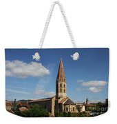 Church Saint Marcel - Cluny Weekender Tote Bag