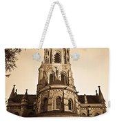 Church Towere In Sepia 1 Weekender Tote Bag