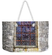 Church Window In Brittany Weekender Tote Bag