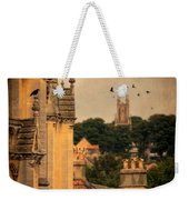 Churches In Town Weekender Tote Bag
