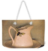 Cicada On Pitcher Weekender Tote Bag