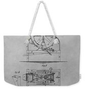 Cider Mill Patent Drawing Weekender Tote Bag