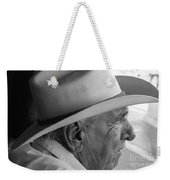Cigar Maker Remembering His Past Weekender Tote Bag by Rene Triay Photography