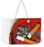 Cigarette Butts Weekender Tote Bag