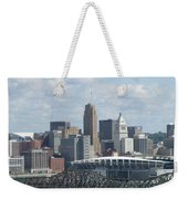 Cincinnati Cityscape Weekender Tote Bag