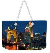 Cincinnati Close Up Weekender Tote Bag