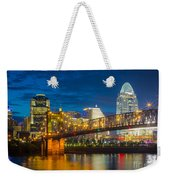 Cincinnati Downtown Weekender Tote Bag