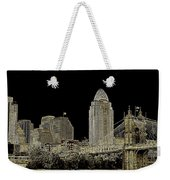 The Queen City Cincinnati Ohio Weekender Tote Bag
