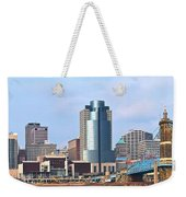 Cincinnati Panoramic Skyline Weekender Tote Bag
